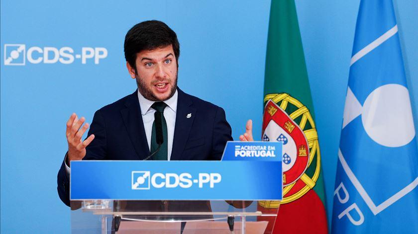 Francisco Rodrigues dos Santos Foto: António Cotrim/Lusa