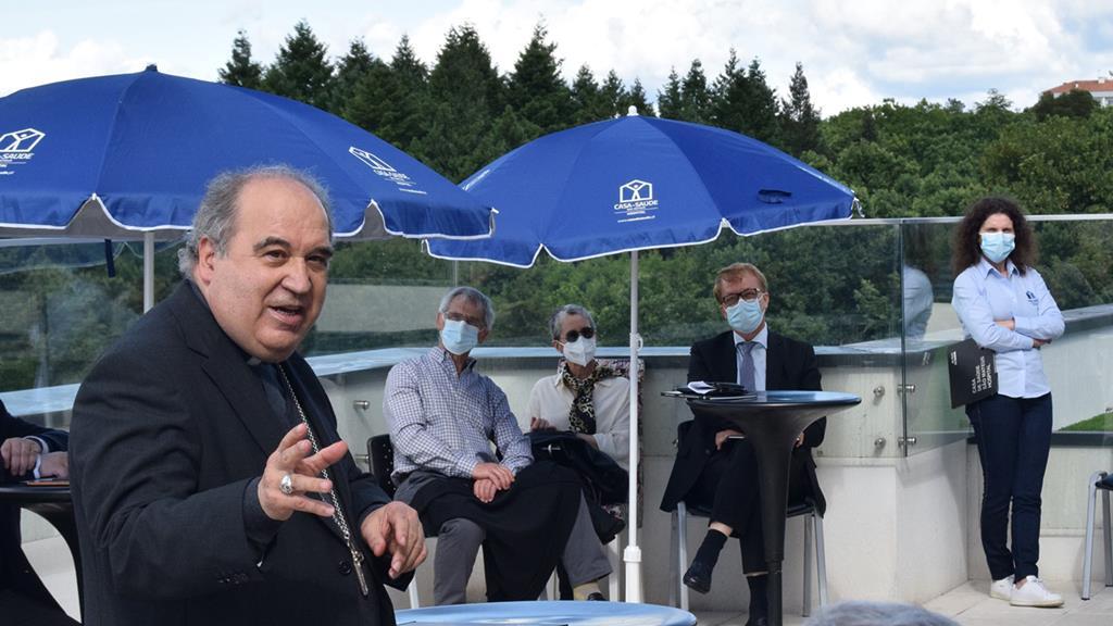D. António Luciano, na imagem, suspendeu preventivamente o padre investigado por abusos em Viseu. Foto: DR