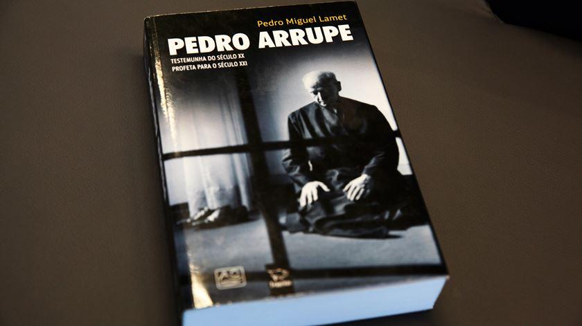 Biógrafo do Padre Arrupe fala esta terça-feira à noite em Lisboa. Foto: Joana Gonçalves/RR