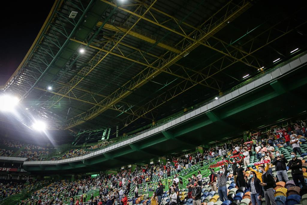 Sporting vai receber o Marítimo na última jornada, já campeão. Foto: Mário Cruz/Lusa
