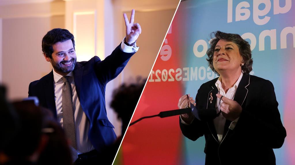 Apesar de ter superado André Ventura em número de votos, Ana Gomes fica atrás do candidato quanto à soma dos distritos que a colocam na segunda posição. Foto: DR