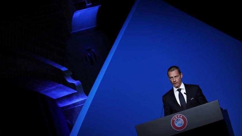 Ceferin não quer mudar formato do Euro 2020. Foto: Yves Herman/Reuters