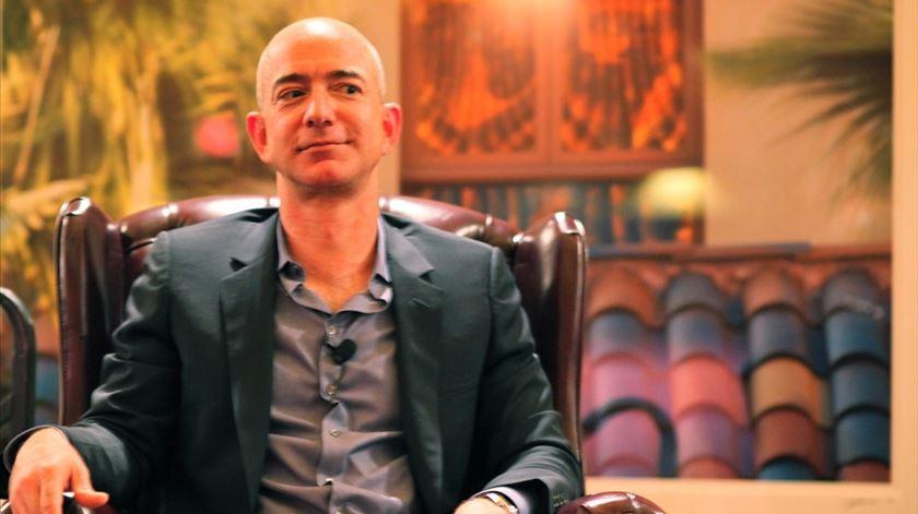Jeff Bezos é o homem mais rico do mundo. Foto: Flicker
