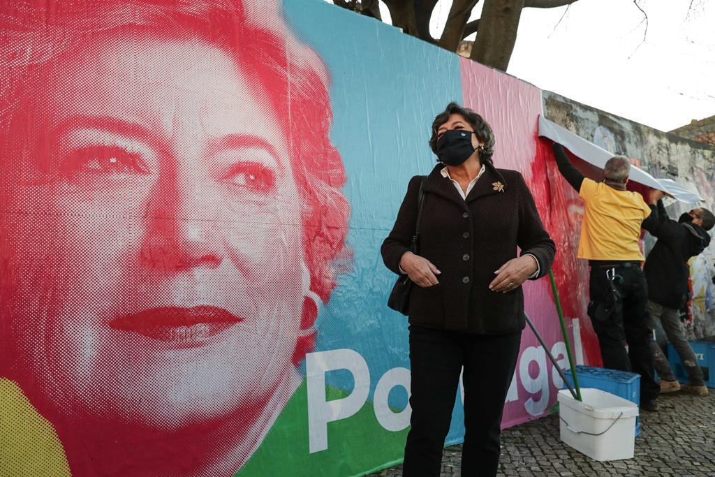 """Ana Gomes defende """"um julgamento político do que se passou"""". Foto: Tiago Petinga/Lusa"""