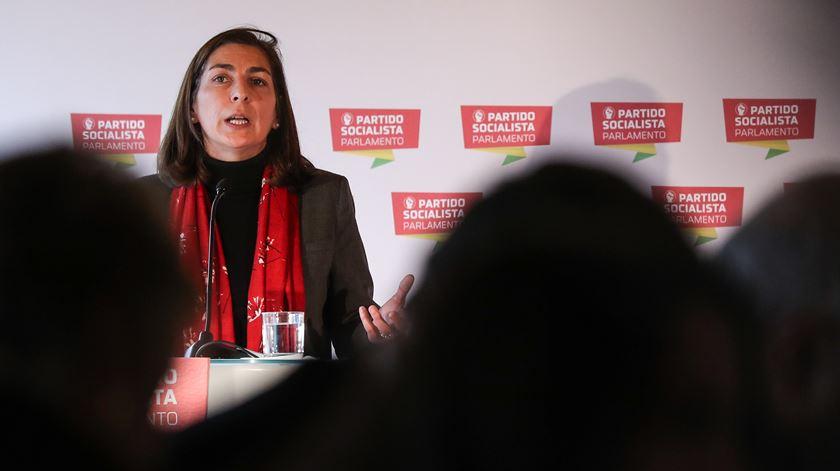 Ana Catarina Mendes, líder parlamentar do PS. Foto: Andre Kosters/Lusa