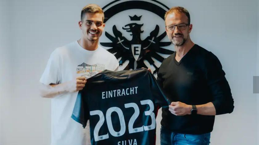 André Silva, Eintracht Frankfurt. Foto: Eintracht Frankfurt