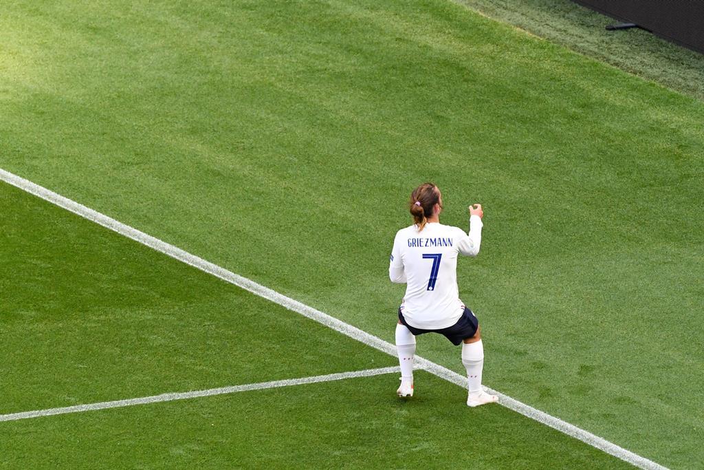 Griezmann marcou golo do empate da França frente à Hungria Foto: Anthony Bibard/FEP/Panoramic/Reuters