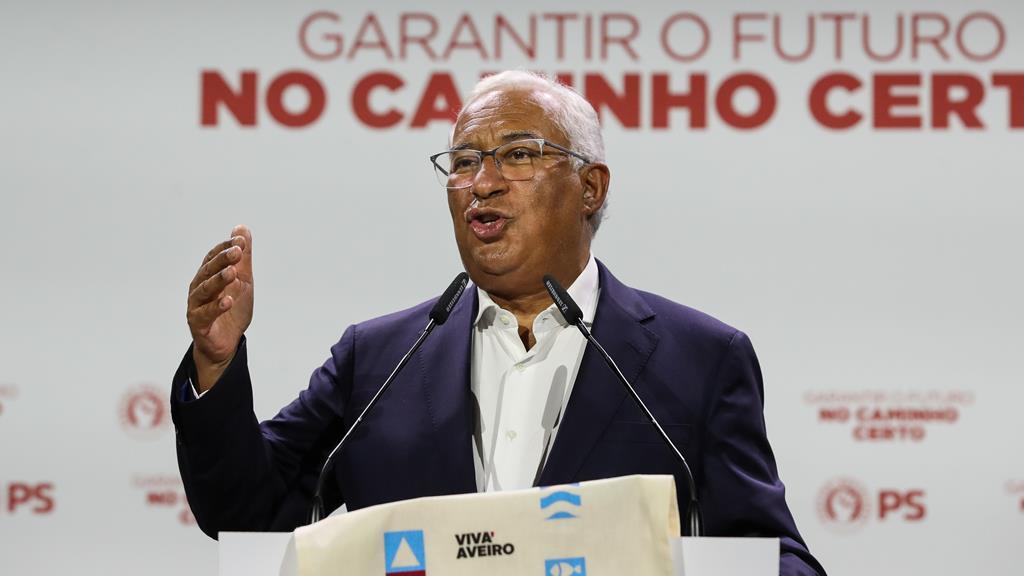"""""""Não se irritem"""". Costa defende que o PRR """"é um plano do país"""", não do PS. Foto: Paulo Novais/Lusa"""