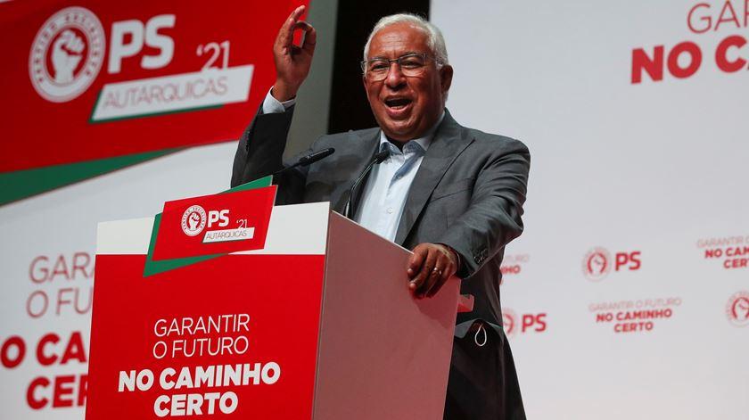 """António Costa. Contas certas """"são bem inestimável"""" para não pôr em causa o futuro"""