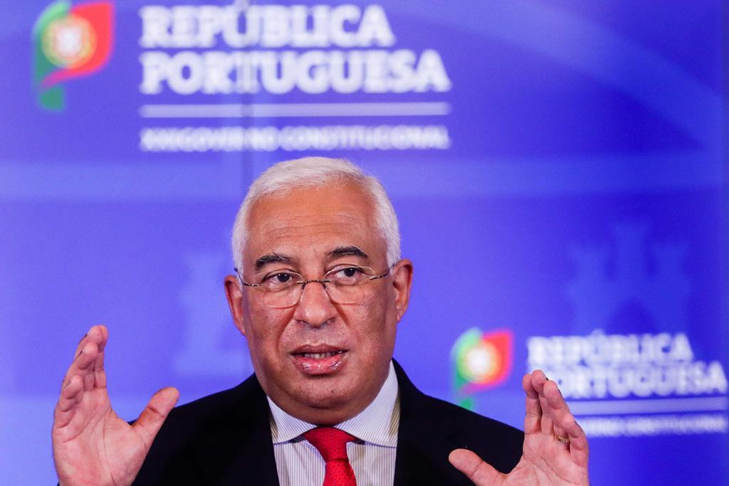 Antónjo Costa defende separação de polícias. Foto: Tiago Petinga/Lusa