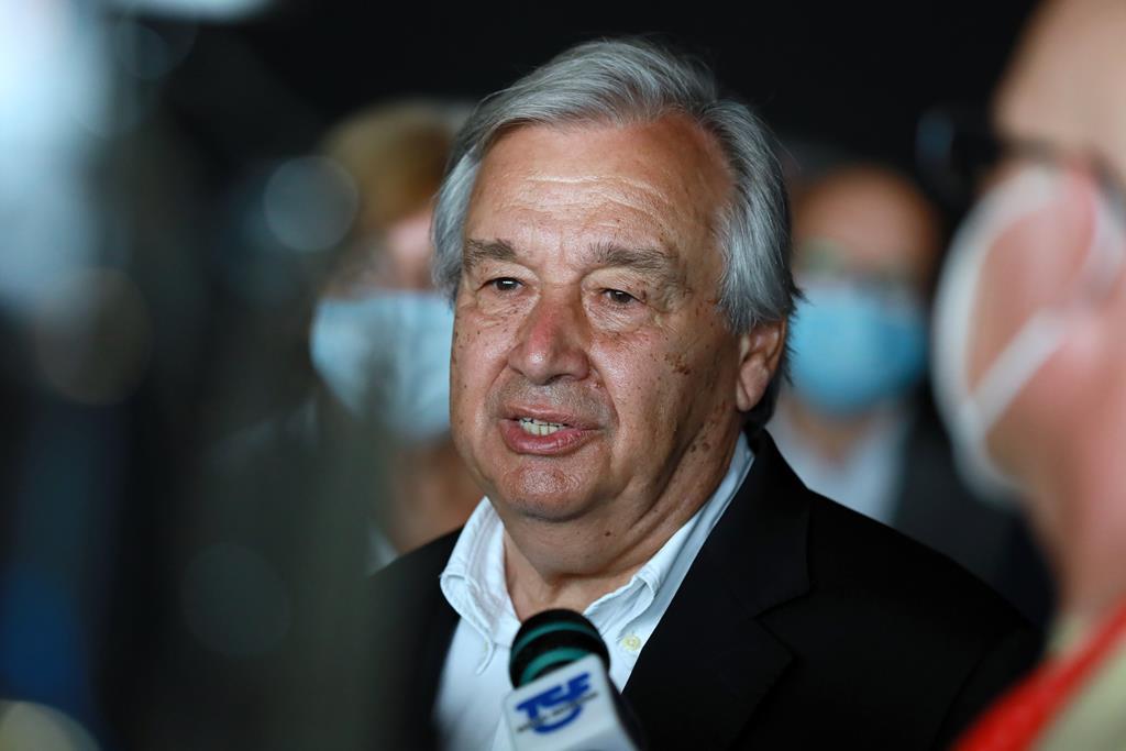 António Guterres toma posse para um segundo mandato na sexta-feira. Foto: Estela Silva/Lusa