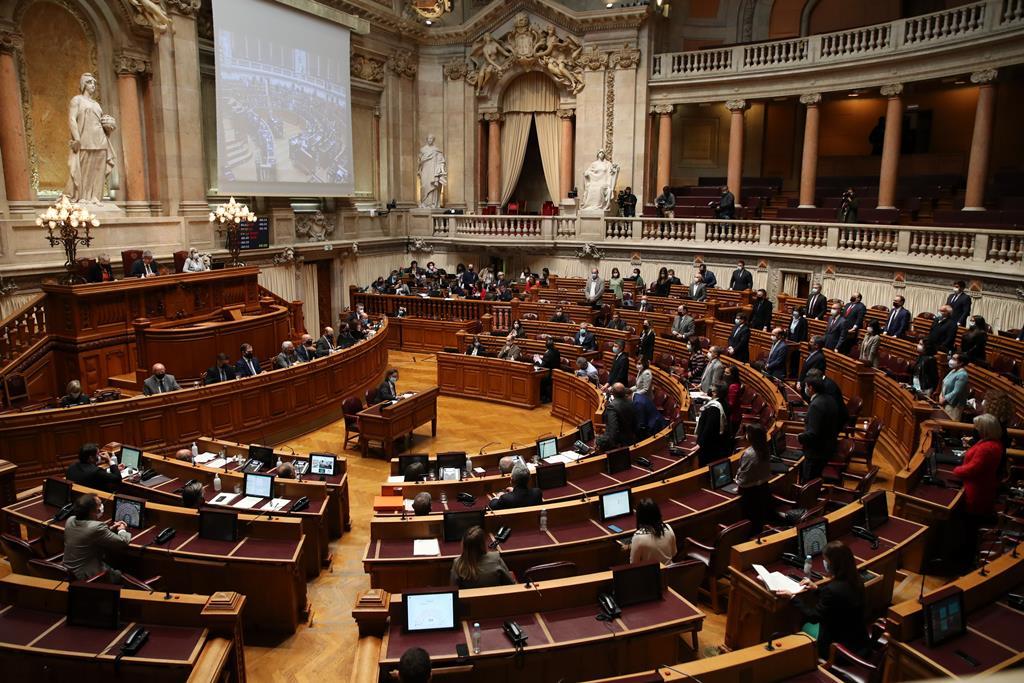 Execução do Orçamento em debate esta quinta-feira. Foto: Manuel de Almeida/Lusa