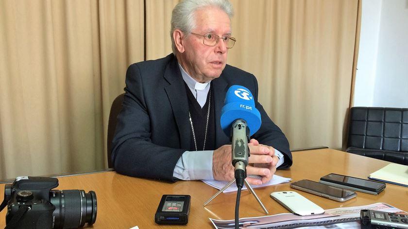Arcebispo de Évora, D. José Alves. Foto: Rosário Silva/RR