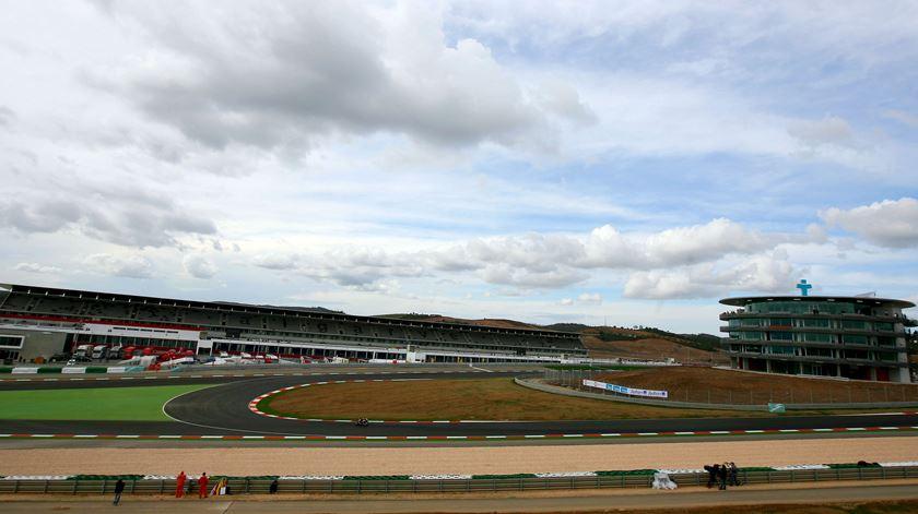 Grande Prémio de F1 pode realizar-se sem espectadores nas bancadas. Foto: Mário Cruz/Lusa