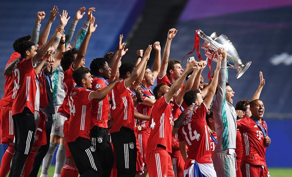Bayern é o atual detentor da Liga dos Campeões. Foto: David Ramos/EPA