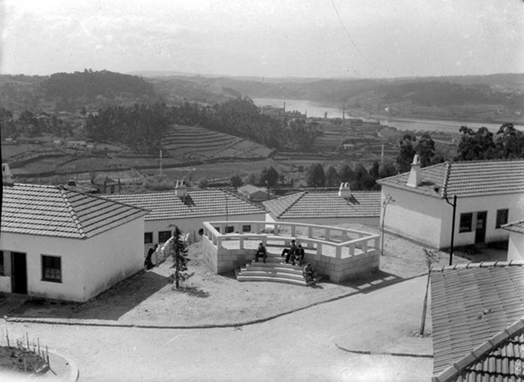 Bairro São Vicente de Paulo, Porto, 1950. Foto: Arquivo Municipal