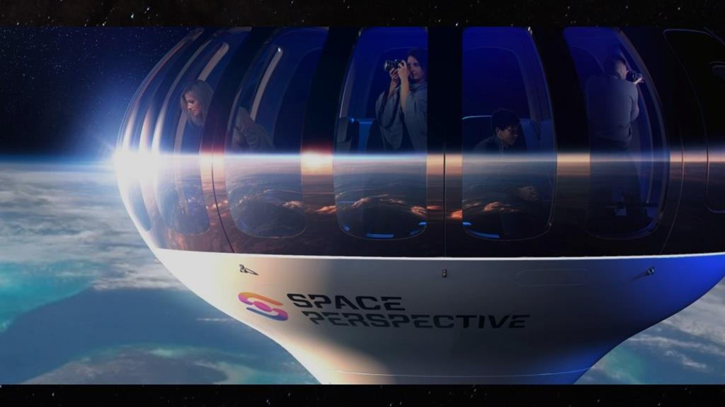 Vista de 360 graus, redes sociais e bar são algumas das comodidades oferecidas. Foto: SpacePerspective