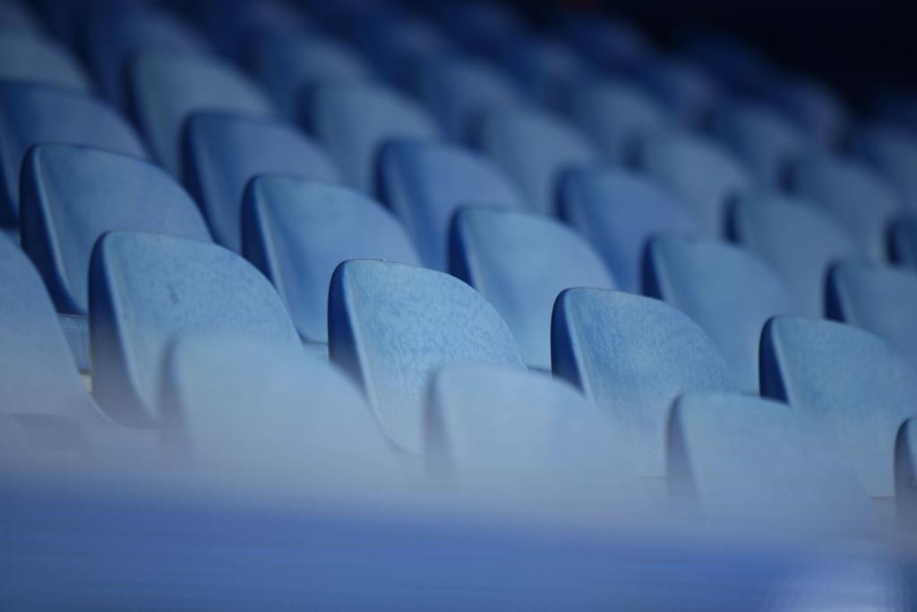 Estádios vão continuar vazios na penúltima jornada do campeonato Foto: Cathrin Muller/Reuters/Imago Sports Pictures