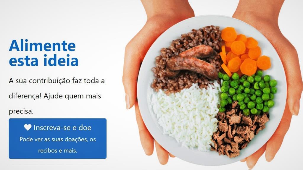 Campanha dura até 6 de junho. Foto: Banco Alimentar