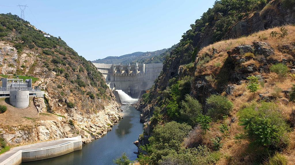 Barragem do Tua é uma das seis envolvida no negócio com os franceses da Engie. Foto: Olímpia Mairos/RR
