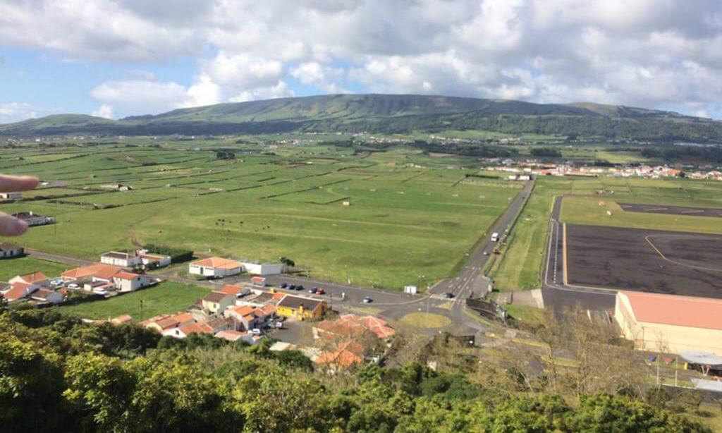 Base das Lajes, nos Açores. Foto: DR