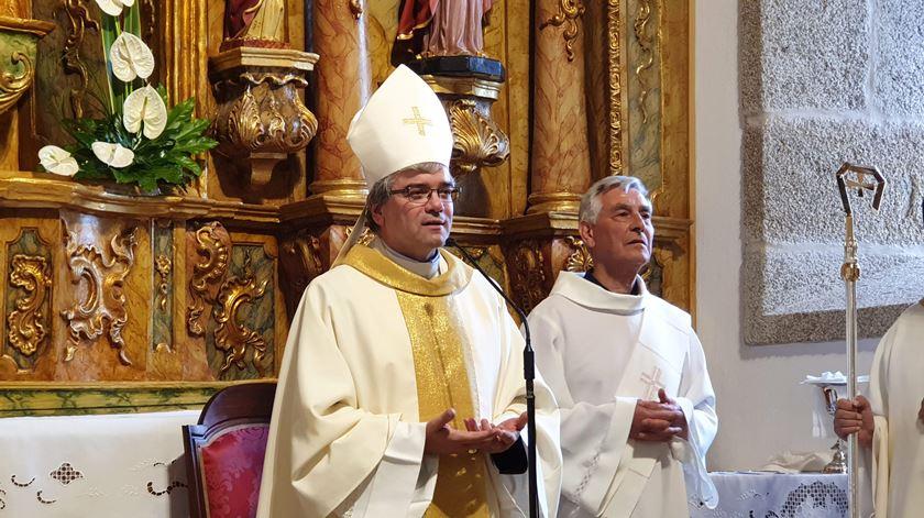 Bispo de Bragança, D. José Cordeiro. Foto: Olímpia Mairos/RR