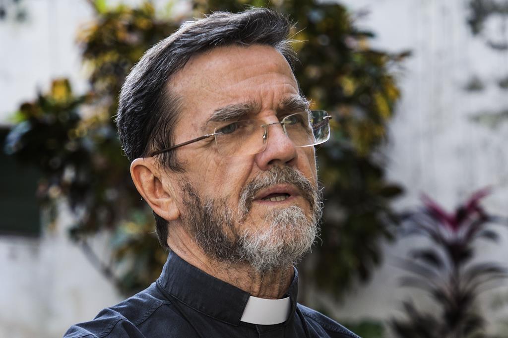 D. Luiz Fernando Lisboa, bispo emérito de Pemba. Foto: Ricardo Franco/Lusa