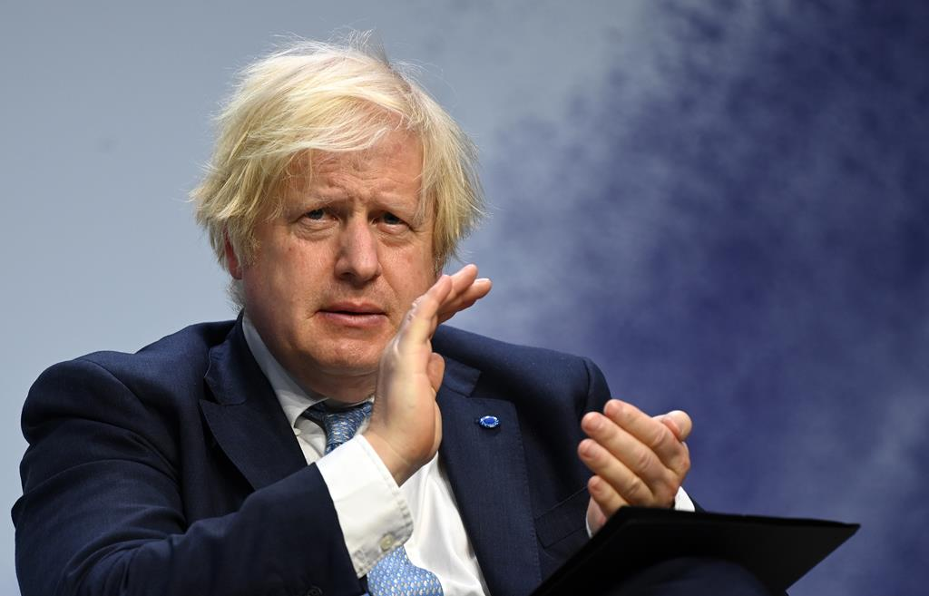 Boris Johnson  Foto: Andy Rain/EPA