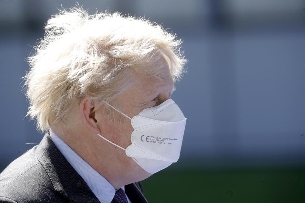 Boris Johnson Foto: Olivier Hoslet/EPA