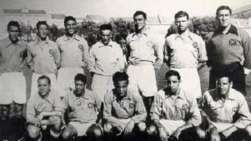 A equipa campeã. Foto: CF OS Belenenses