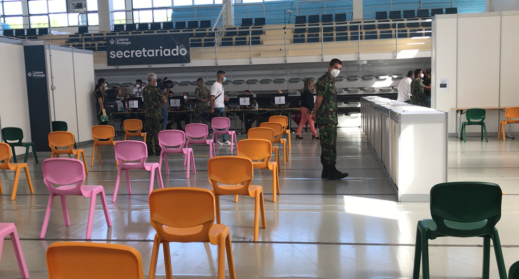 Marcelo relativiza o atraso de duas semanas admitido pelo coordenador da Task Force de vacinação. Foto: Beatriz Lopes/RR