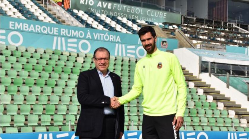 António da Silva Campos e Tarantini. Foto: Rio Ave