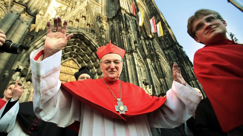 Cardeal Joachim Meisner. Foto: Oliver Berg/EPA