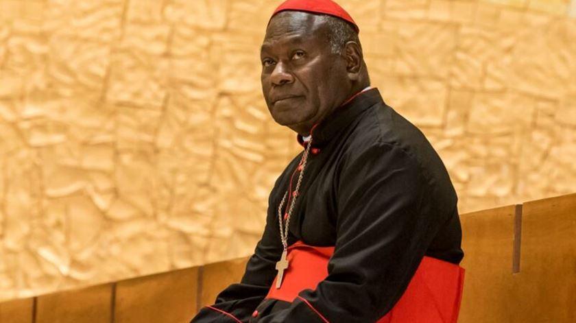 Cardeal John Ribat, arcebispo de Port Moresby, Papua Nova Guiné. Foto: AIS