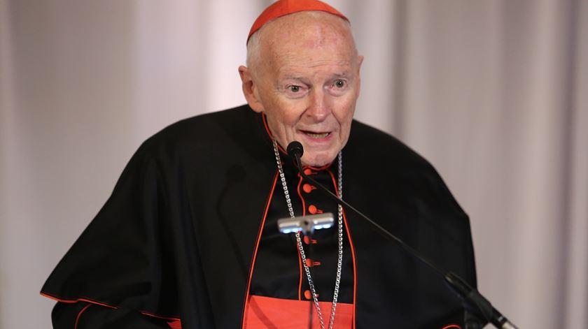 Cardeal McCarrick já resignou ao cargo. Foto: DR