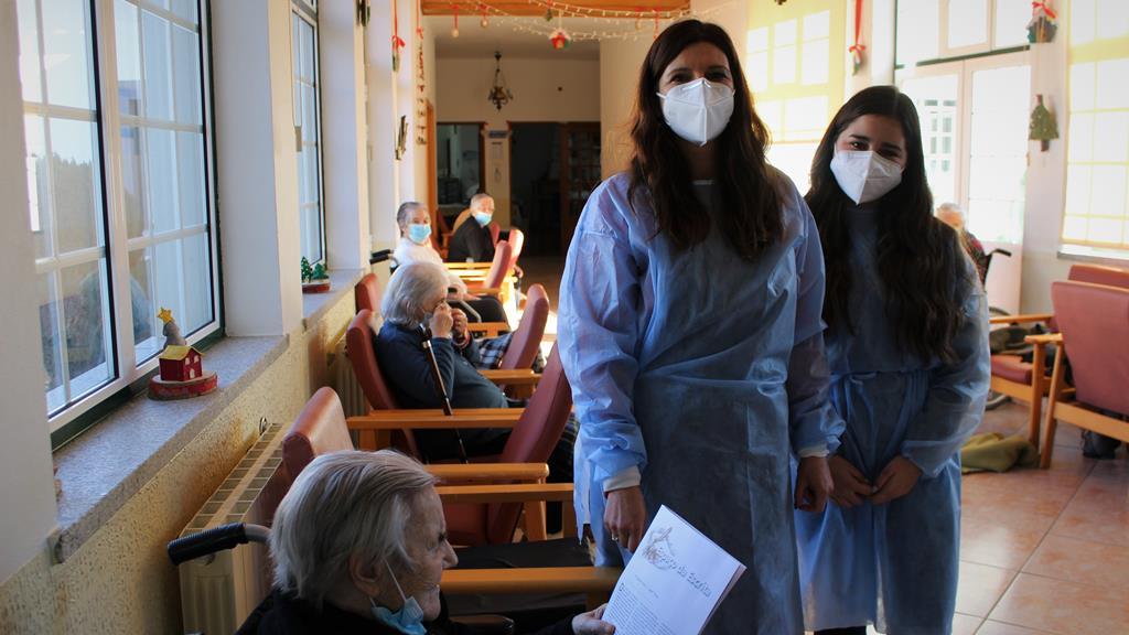 Responsáveis pelos lares querem desconfinamento de idosos que já foram vacinados. Foto: Liliana Carona/RR