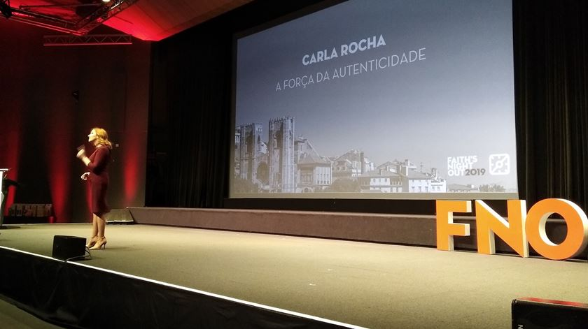 Carla Rocha foi uma das principais oradoras do Faith