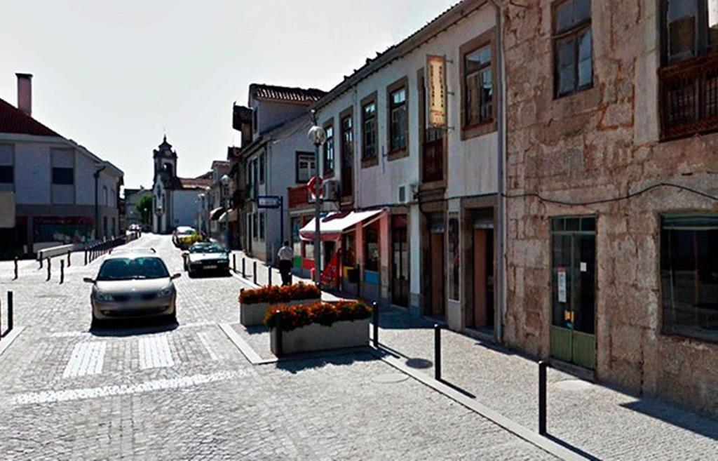 Centro da vila de Carregal do Sal, distrito de Viseu. Foto: DR