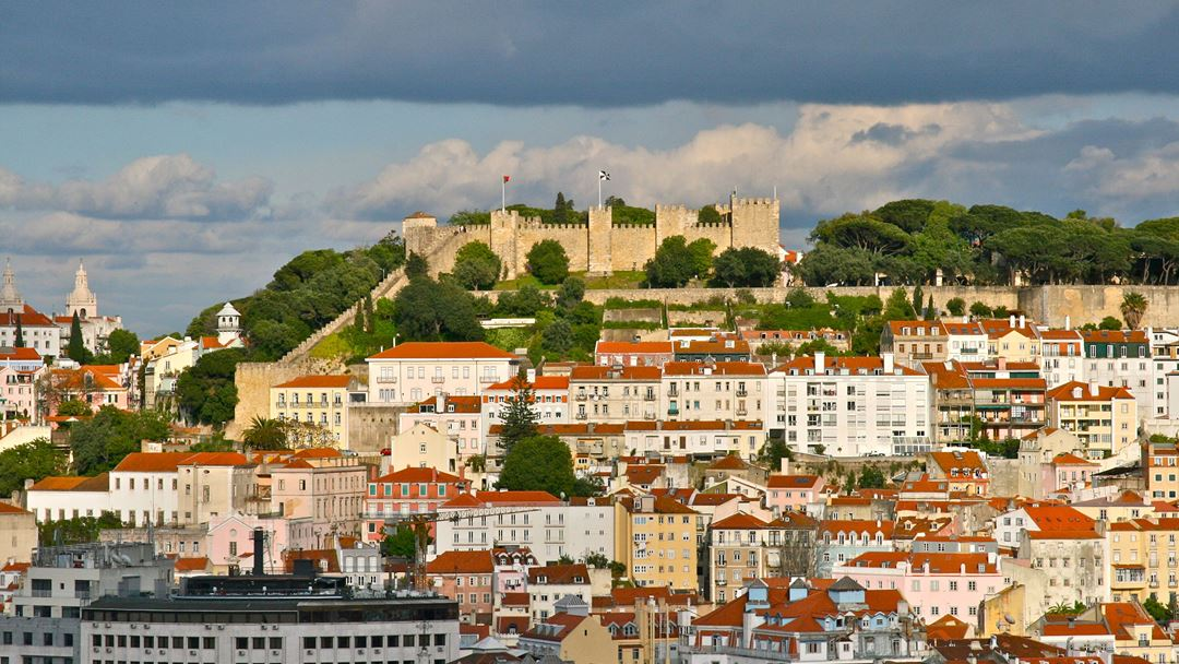 Ribeiro Telles e Pulido Garcia foram os responsáveis pela planificação dos jardins do Castelo de S. Jorge. Foto: François Philipp/Wikimedia