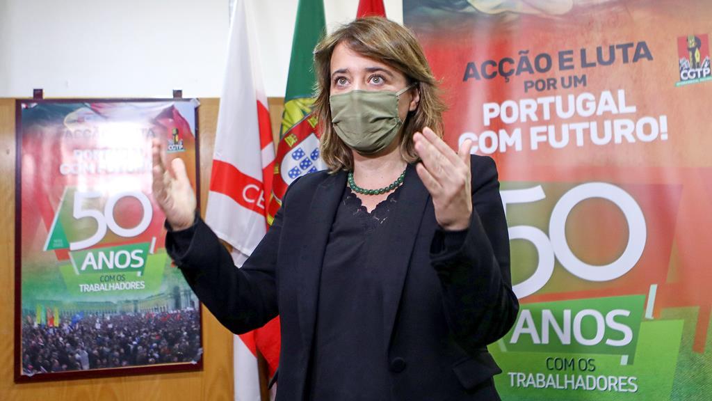 Catarina Martins, líder do Bloco de Esquerda. Foto: António Pedro Santos/Lusa
