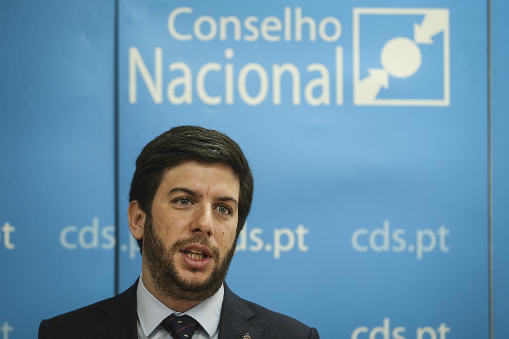 Francisco Rodrigues dos Santos CDS/PP Foto: Rodrigues Antunes/Lusa