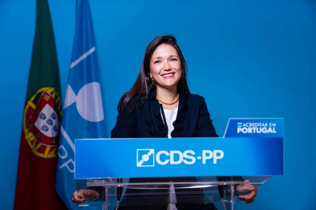 Cecília Anacoreta Correia, porta-voz do CDS. Foto: DR