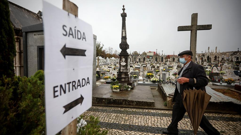 Há zonas do país em que o enterro já demora tanto tempo como a cremação. Foto: José Coelho/Lusa