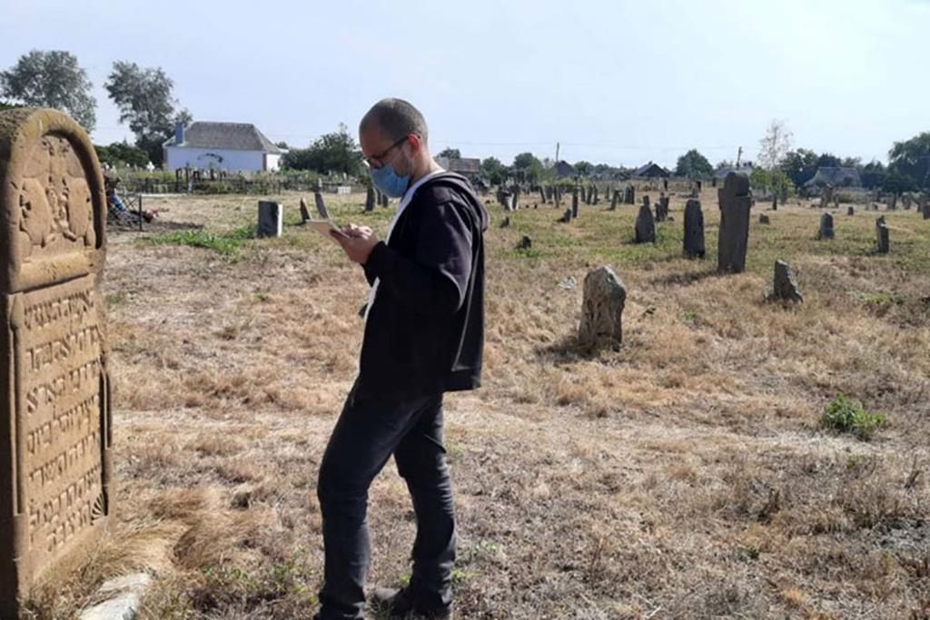 Cemitério Judaico catalogado por um colaborador da IECJ. Foto: IECJ