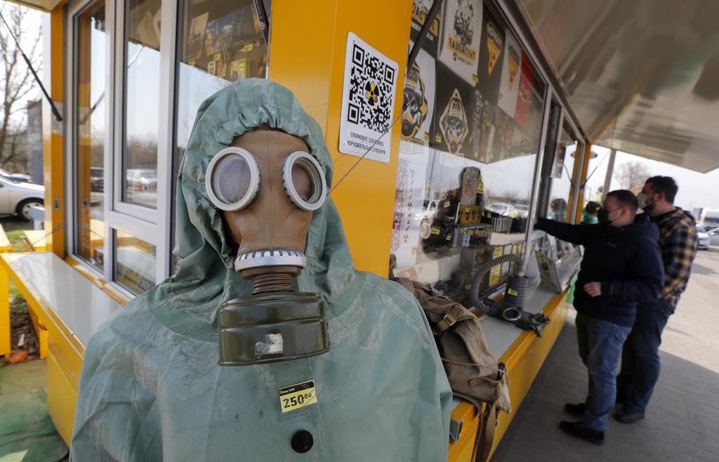 Turismo em Chernobyl. Foto: Sergey Dolzhenko/EPA