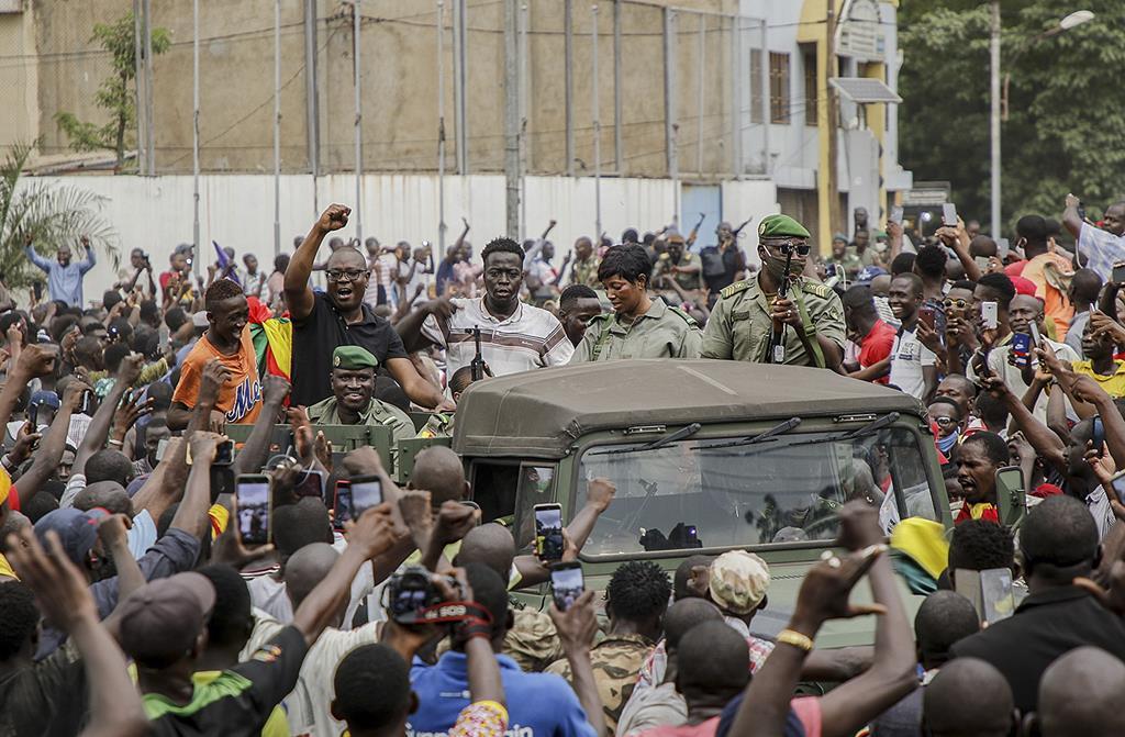 O Mali foi palco de uma revolta militar em agosto de 2020. Portugueses vão tentar manter a paz. Foto: Moussa Kalapo/EPA