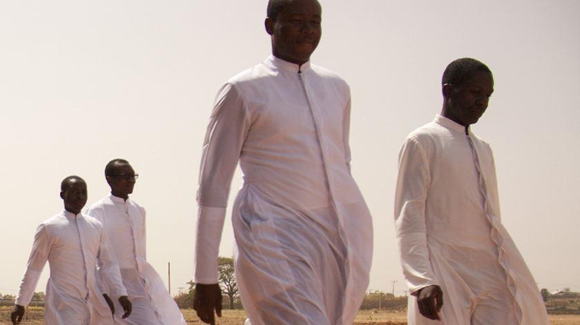 Clero da Igreja Católica na Nigéria, onde quatro seminaristas foram raptados há poucos dias. Foto: AIS  [Arquivo]