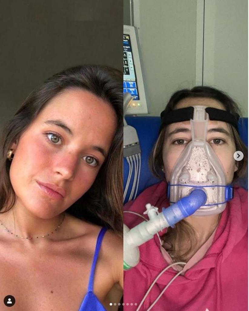 Constança Braddell, a jovem de 24 anos que tem fibrose quistica e precisa de um medicamento inovador. Foto: DR