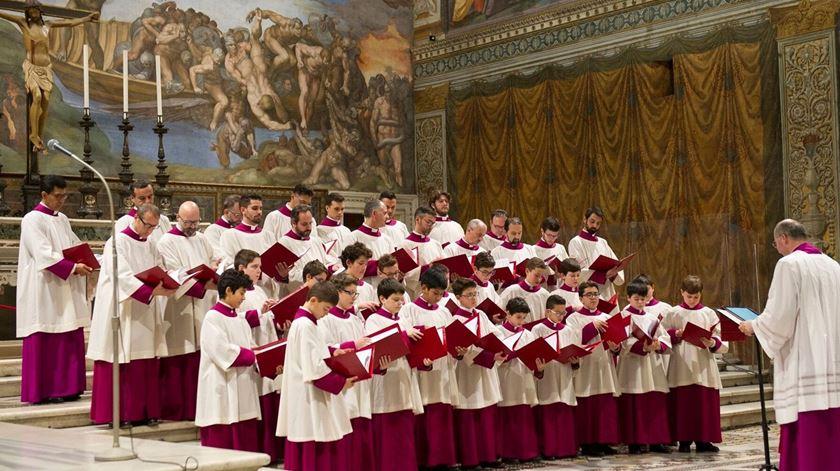 Dirigentes do coro da Capela Sistina investigados por alegada fraude. Foto: DR