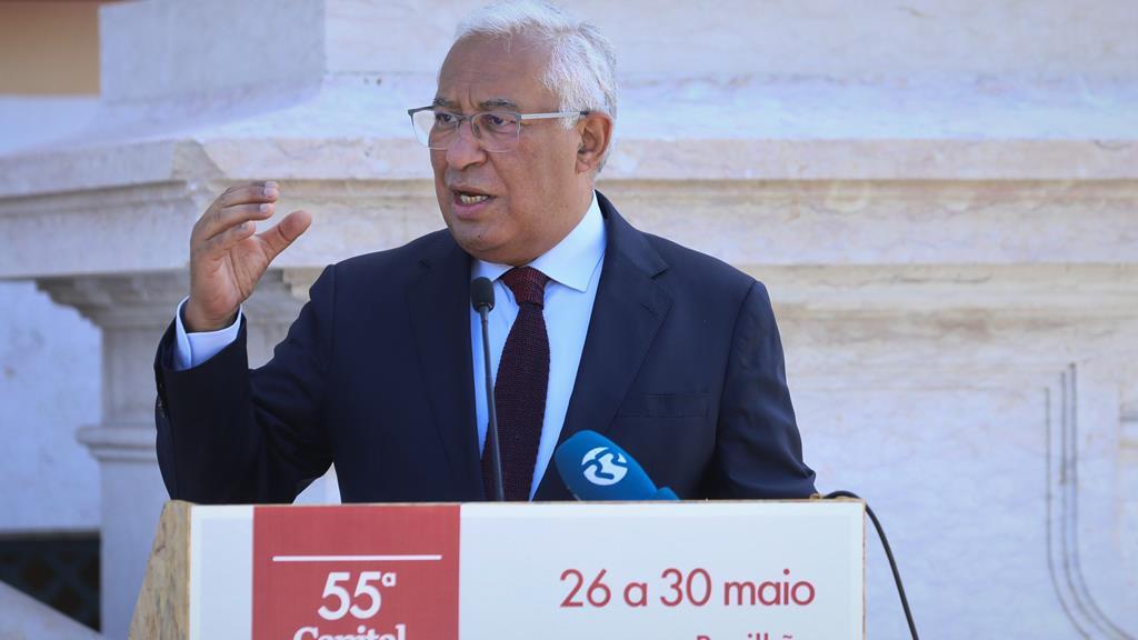 """Primeiro-ministro apelou às empresas e autarquias que aproveitem o """"trampolim"""". Foto: António Cotrim/Lusa"""